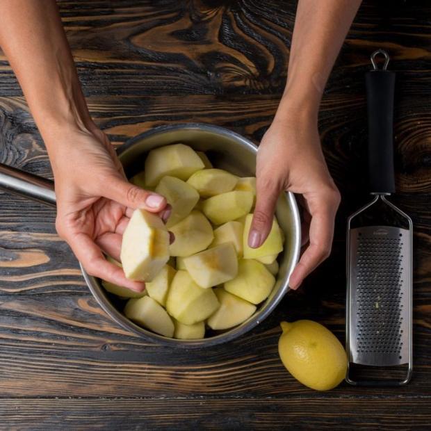 яблочные цукаты по рецепту Лизы Глинской