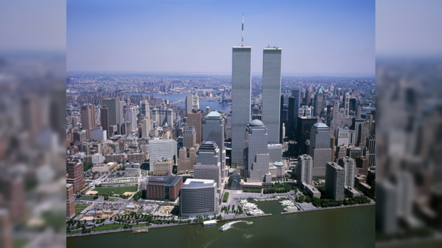 башни-близнецы Нью-Йорк