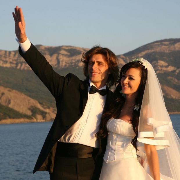 Свадебное фото Анастасии Заворотнюк