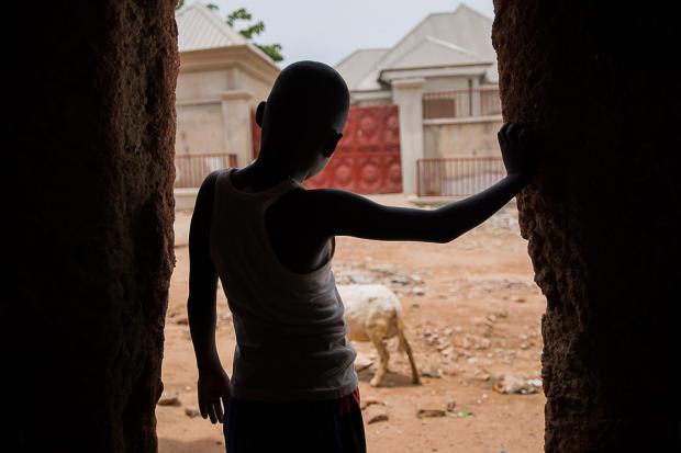 Мальчик в Нигерии