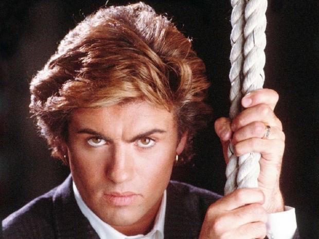 Британский певец Джордж Майкл