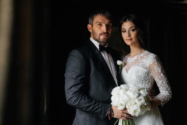 Свадьба Але5ксандра Овечкина и аастасии Шубской
