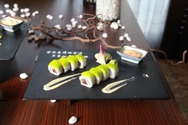 традиционное японское суши
