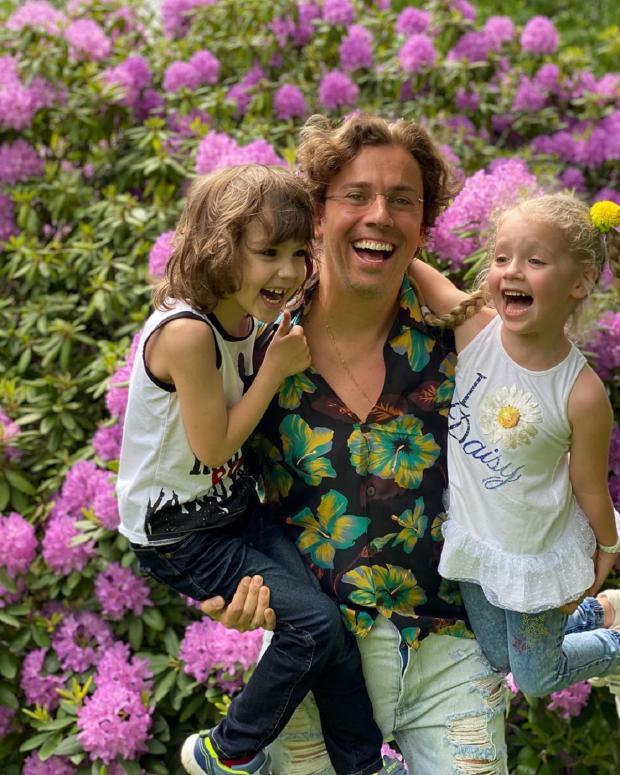 Максим Галкин и дети