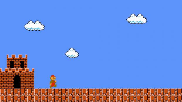 супер марио скриншот из игры