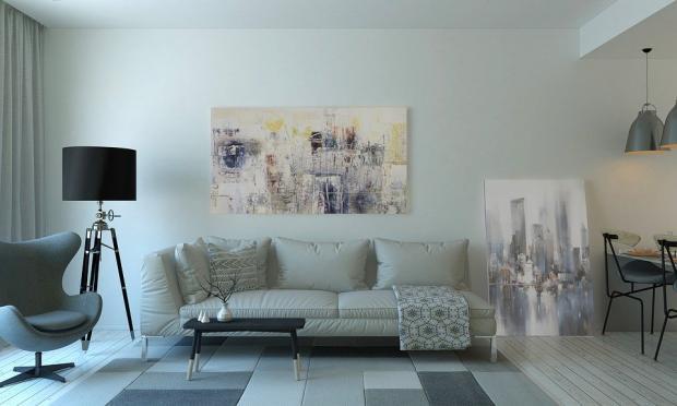 преимущества серого цвета в современном интерьере