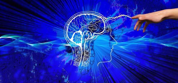 разряд энергии к головному мозгу