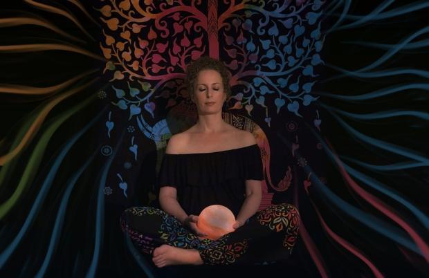 медитация с шаром в руках