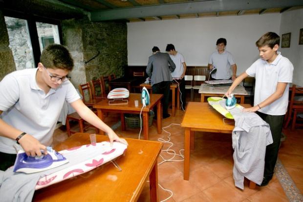уроки домоводства для испанских учеников