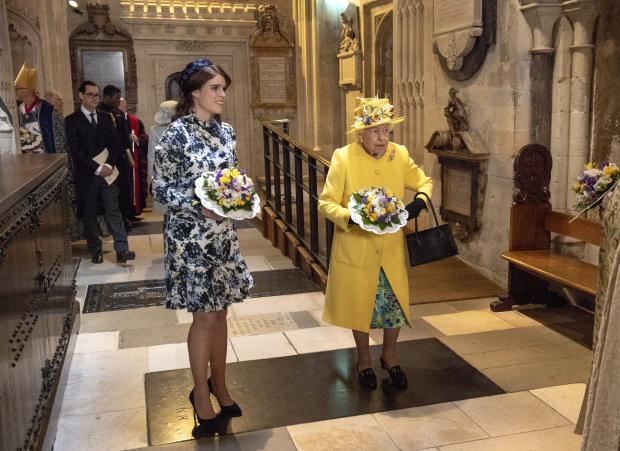 принцесса Евгения и Елизавета вторая
