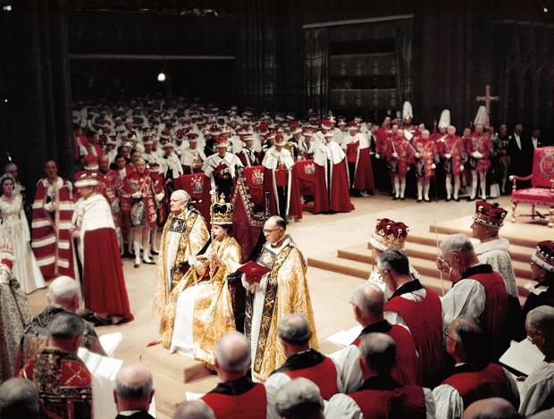 коронация королевы Елизаветы