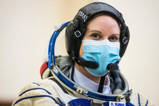 астронавт НАСА Кейт Рубинс