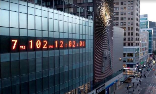 климатические часы в нью-йорке