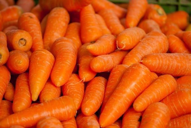 чистая морковь