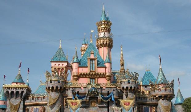 замок Walt Disney