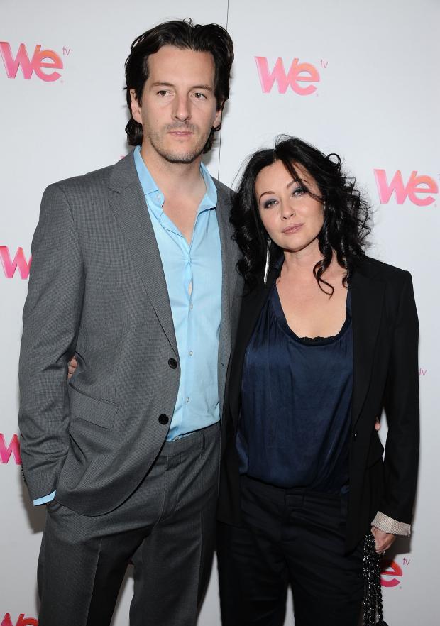 Шеннен Доэрти с мужем