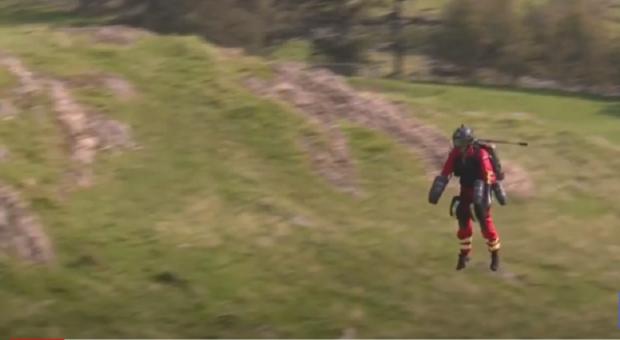 летательный костюм для парамедиков