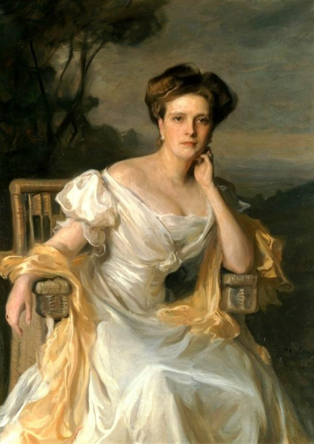портрет Алисы Баттенберг, матери принца Филиппа