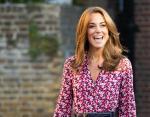 Красивая и стройная герцогиня: Кейт Миддлтон восхитила фанатов в строгом брючном костюме