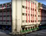 """Видео с """"шагающим зданием"""" стало вирусным в сети: в Китае переместили 7600-тонную школу"""