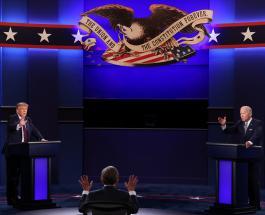 Холодное рукопожатие и жаркие объятия: в сети обсуждают отношения Трампа и Байдена с их женами