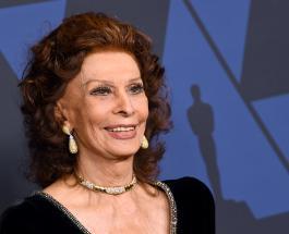 Софи Лорен вернулась в кино: 86-летняя актриса снялась в новом фильме своего сына