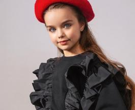 Самая красивая девочка в мире Анастасия Князева получила премию Тэфи-Kids 2020