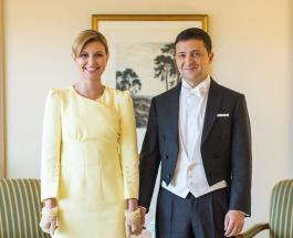 Владимир и Елена Зеленские встретились с Принцем Уильямом и Кейт Миддлтон