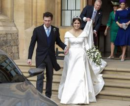 Принцесса Евгения поделилась редкими семейными фото в честь второй годовщины свадьбы