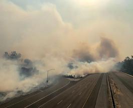 Лесные пожары в Калифорнии: около 100 тысяч жителей эвакуированы из опасной зоны