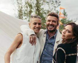 18-летний сын Дэвида и Виктории Бекхэм влюблен: романтические фото Ромео и Мии