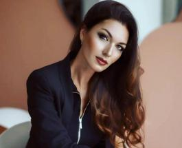 Юлия Такшина в платье из желтых листьев: актриса очаровала поклонников осенним образом