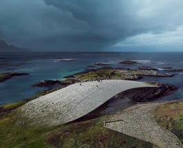 Впечатляющий музей для наблюдения за китами откроется в Норвегии: фото уникального здания