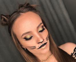 Милый макияж на Хэллоуин: красивые и нежные идеи для девушек
