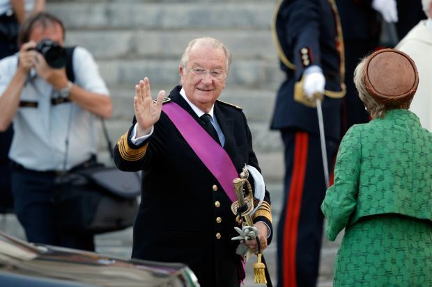 Король Альберт Бельгийский