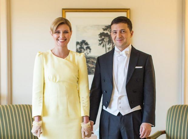 Владимир Зеленский с женой