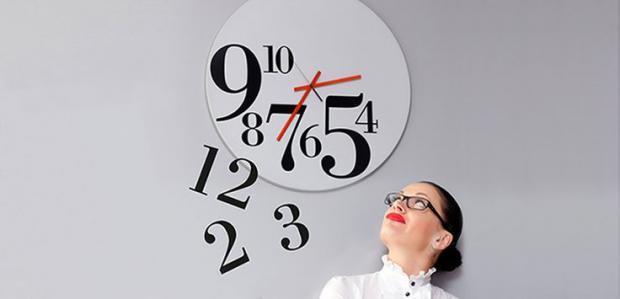 цифры на часах