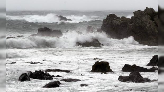 шторм в Японии