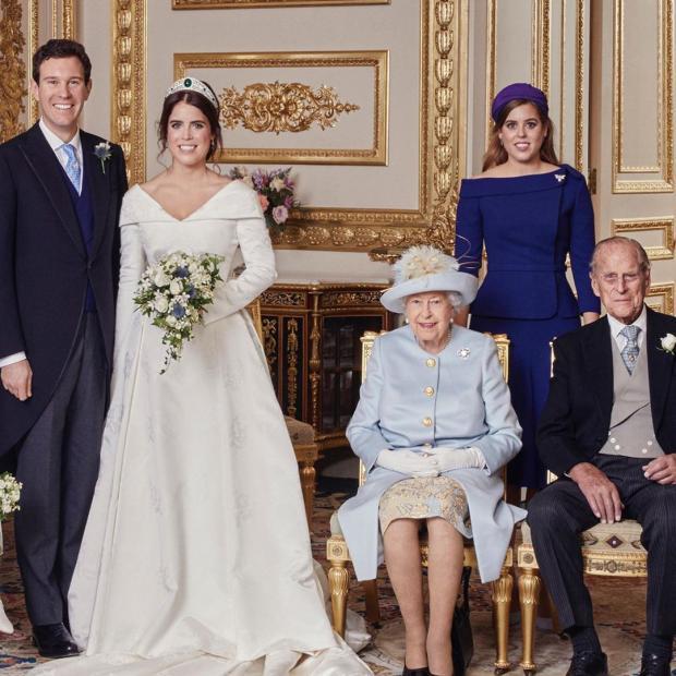 Свадебное фото принцессы Евгении
