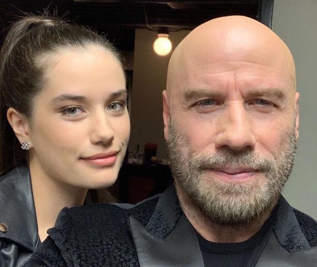 Джон Траволта с дочерью