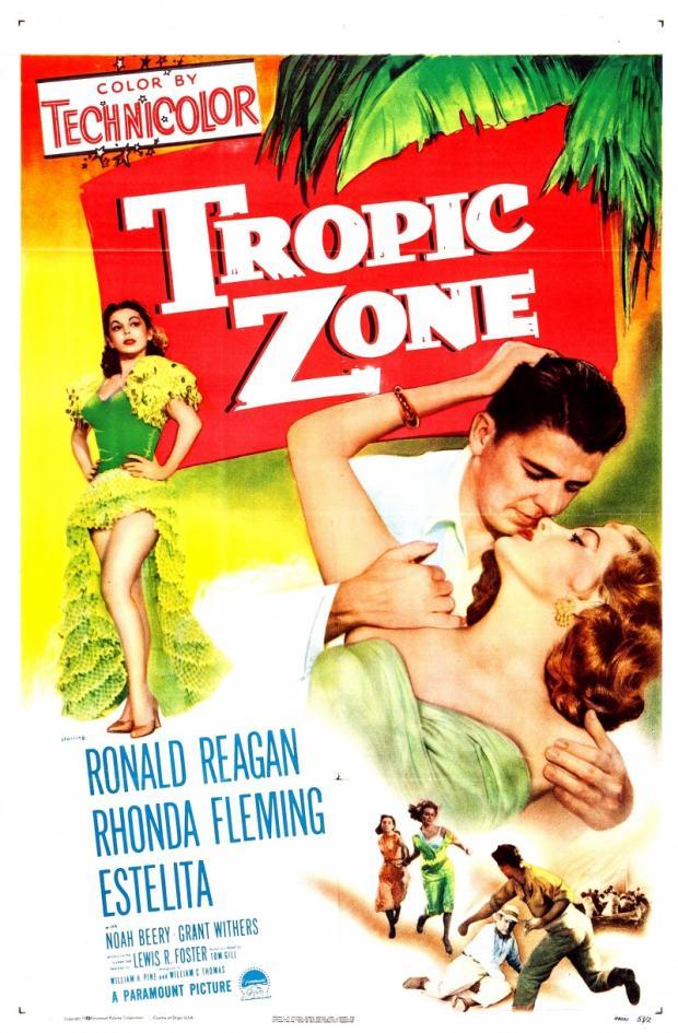 """Постер к фильму """"Тропическая зона"""" 1953"""