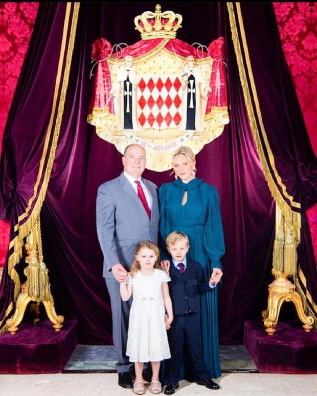 семья Князя Монако