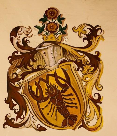 изображение на доспехах знака Зодиака Рака