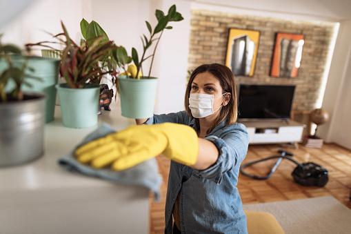 уборка квартиры во время пандемии