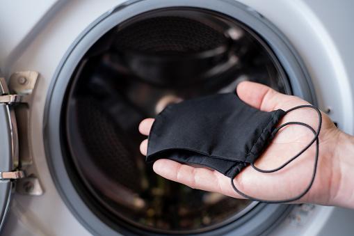 как стирать маску в стиральной машине