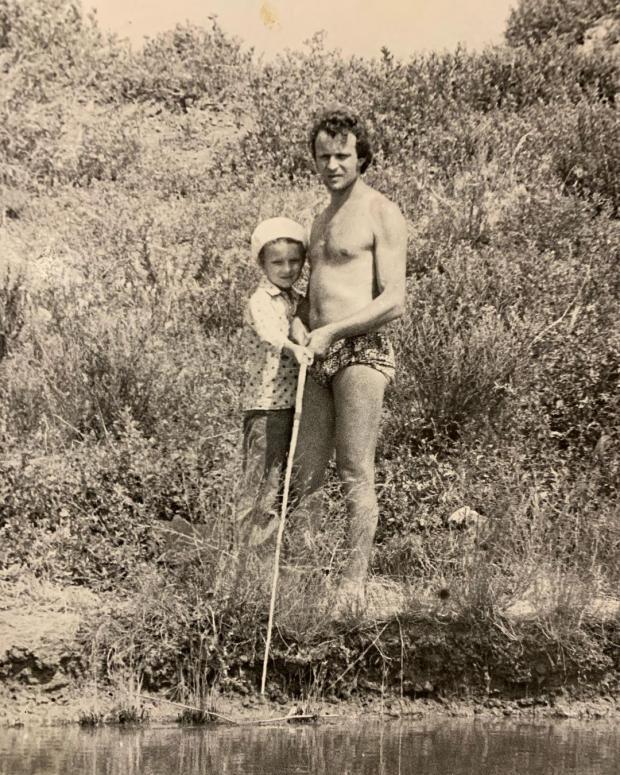 Анатолий Евдокименко с сыном
