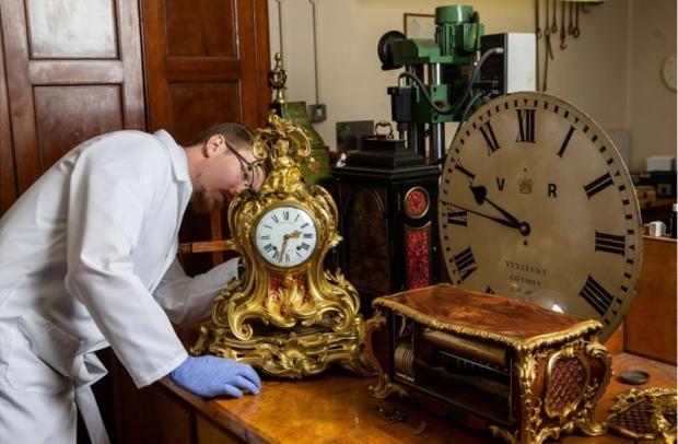 ремонт часов в Виндзорском замке
