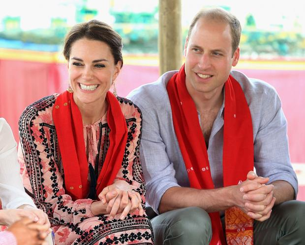 Кейт и Уильям в туре
