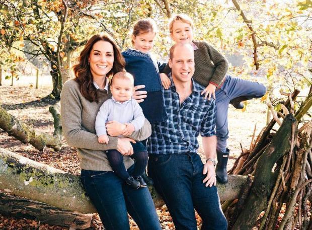 Семья Принца Уильяма и Кейт Миддлтон