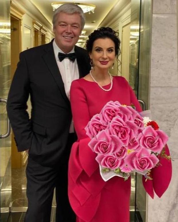 Екатерина Стриженова с мужем Александром Стриженовым